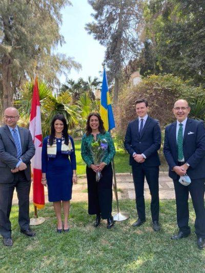 تكريم السفارة الكندية